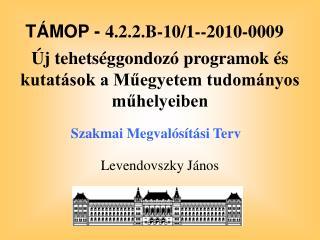 Levendovszky János