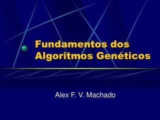 Fundamentos dos Algoritmos Genéticos