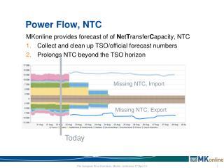 Power Flow, NTC