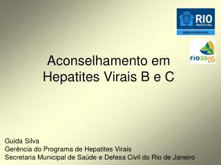 Aconselhamento em Hepatites Virais B e C
