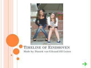 Timeline of Eindhoven