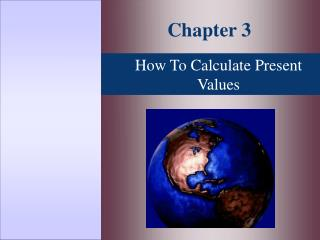 How To Calculate Present Values