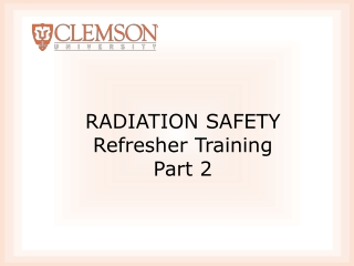 Radiation Doses and Safety Considerations