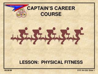 CAPTAIN'S CAREER  COURSE