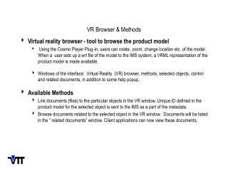 VR Browser & Methods