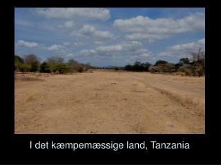 I det kæmpemæssige land, Tanzania