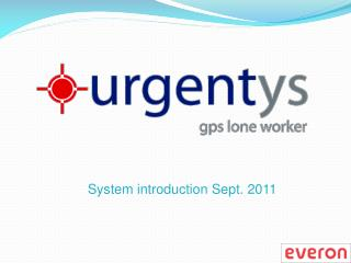 System introduction Sept. 2011
