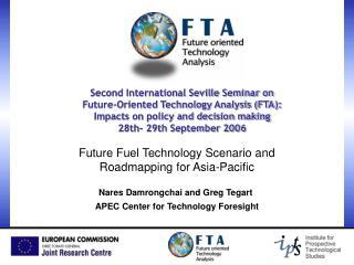Future Fuel Technology Scenario and Roadmapping for Asia-Pacific
