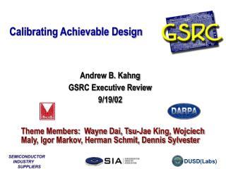 Calibrating Achievable Design