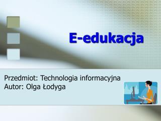 E-edukacja