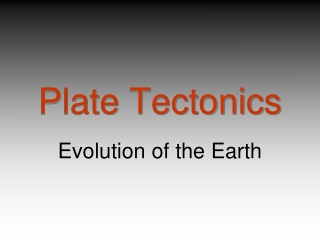 How The Plate Tectonic Theory Evolved