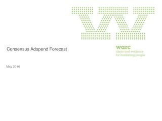 Consensus Adspend Forecast