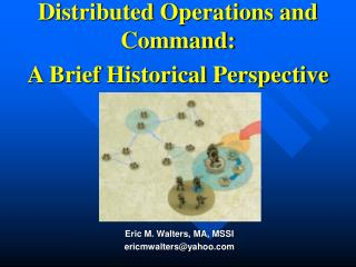 Distributed Operations and Command: A Brief Historical Perspective