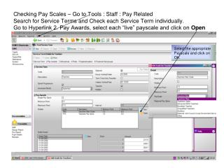 Select the appropriate Payscale and click on OK