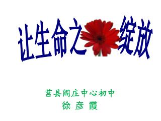 莒县阎庄中心初中