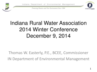 FIELD OPERATIONS DIVISION  CLEAN WATER ACT  401 WATER QUALITY CERTIFICATION PROGRAM