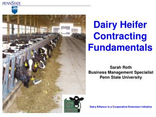 Dairy Heifer Contracting Fundamentals
