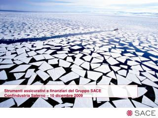 Strumenti assicurativi e finanziari del Gruppo SACE Confindustria Salerno – 10 dicembre 2009