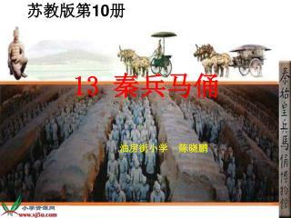 1 3 秦兵马俑