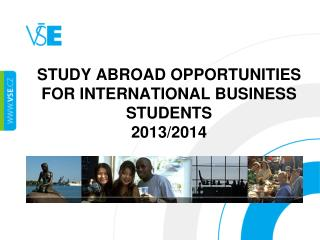 Study  abroad opportunities for International  Business  students 2013/2014