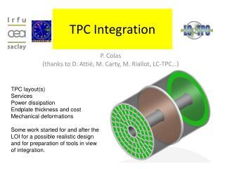 TPC Integration