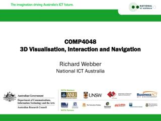 COMP4048 3D Visualisation, Interaction and Navigation