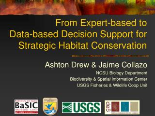 From Expert-based to  Data-based Decision Support for Strategic Habitat Conservation