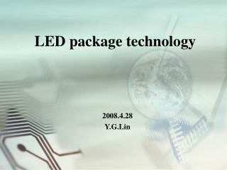 LED package technology