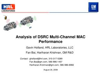 Analysis of DSRC Multi-Channel MAC Performance