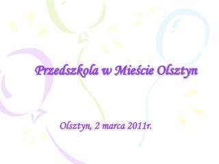 Przedszkola w Mieście Olsztyn