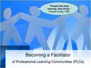 Becoming a Facilitator