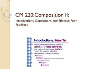 CM 220:Composition II: