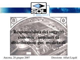 Ancona, 28 giugno 2007Direzione  Affari Legali