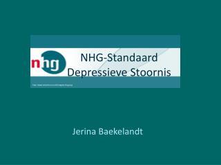 NHG-Standaard Depressieve Stoornis