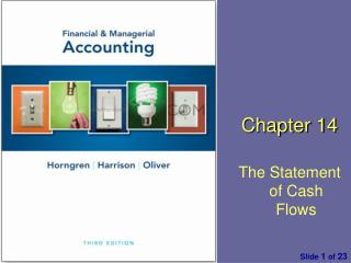 Chapter  1 4 The Statement of Cash Flows