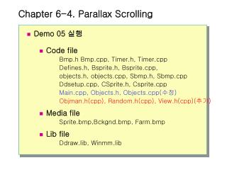 Chapter 6-4. Parallax Scrolling