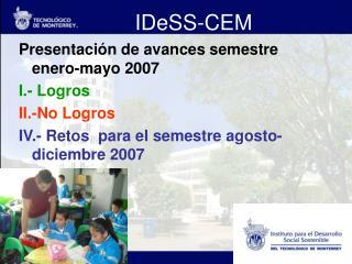IDeSS-CEM