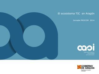 El ecosistema TIC  en Arag�n
