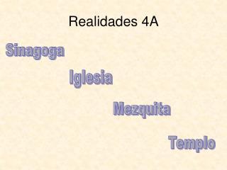 Realidades 4A