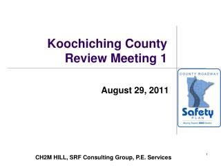Koochiching County Review Meeting 1