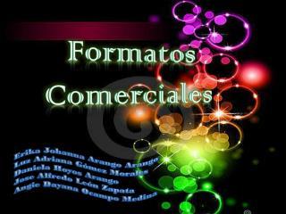 Formatos Comerciales