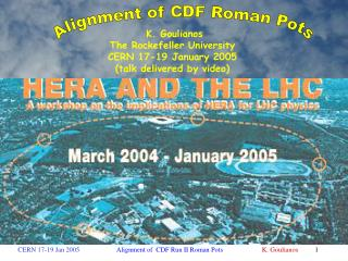 HERA and the  LHC