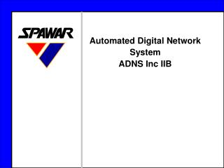 Automated Digital Network System ADNS Inc IIB