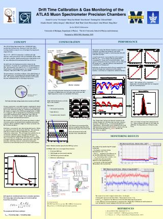 Drift Time Calibration & Gas Monitoring of the  ATLAS Muon Spectrometer Precision Chambers