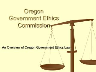 Oregon  Government Ethics Commission