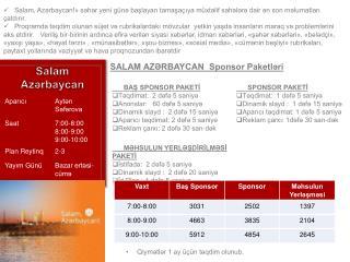 Salam Azərbaycan