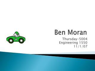 Ben Moran