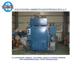 SOLUCIONES AMBIENTALES INTEGRALES S.A.C