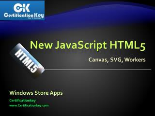 Preparing rogramming in HTML5 with JavaScript