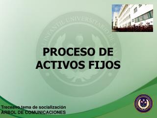 PROCESO DE ACTIVOS FIJOS